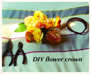 tools for making your floral crown