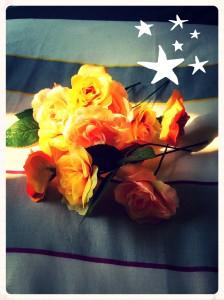 fake flowers