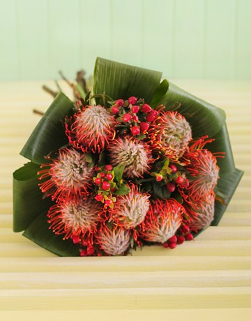 Protea Bouquet from NetFlorist
