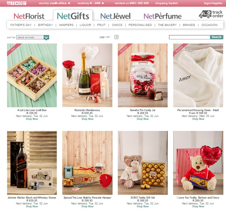 First Wedding Anniversary Gift Ideas South Africa : Modern Anniversary Gifts by Year - NetFlorist