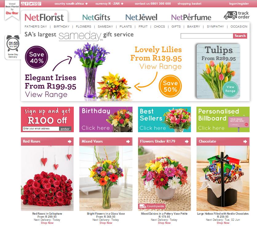 Winter Flowers at NetFlorist
