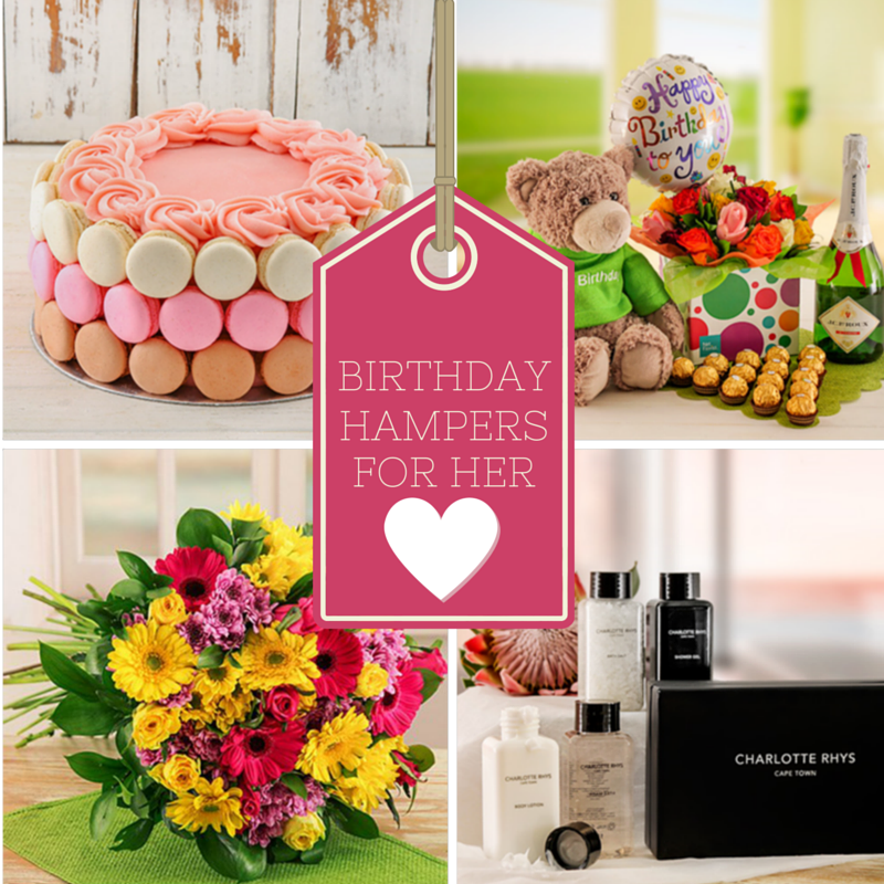 Birthday Hampers for Her