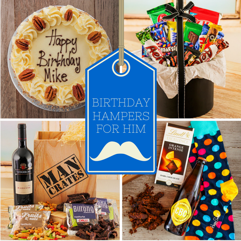 Birthday Hampers for Him - NetFlorist