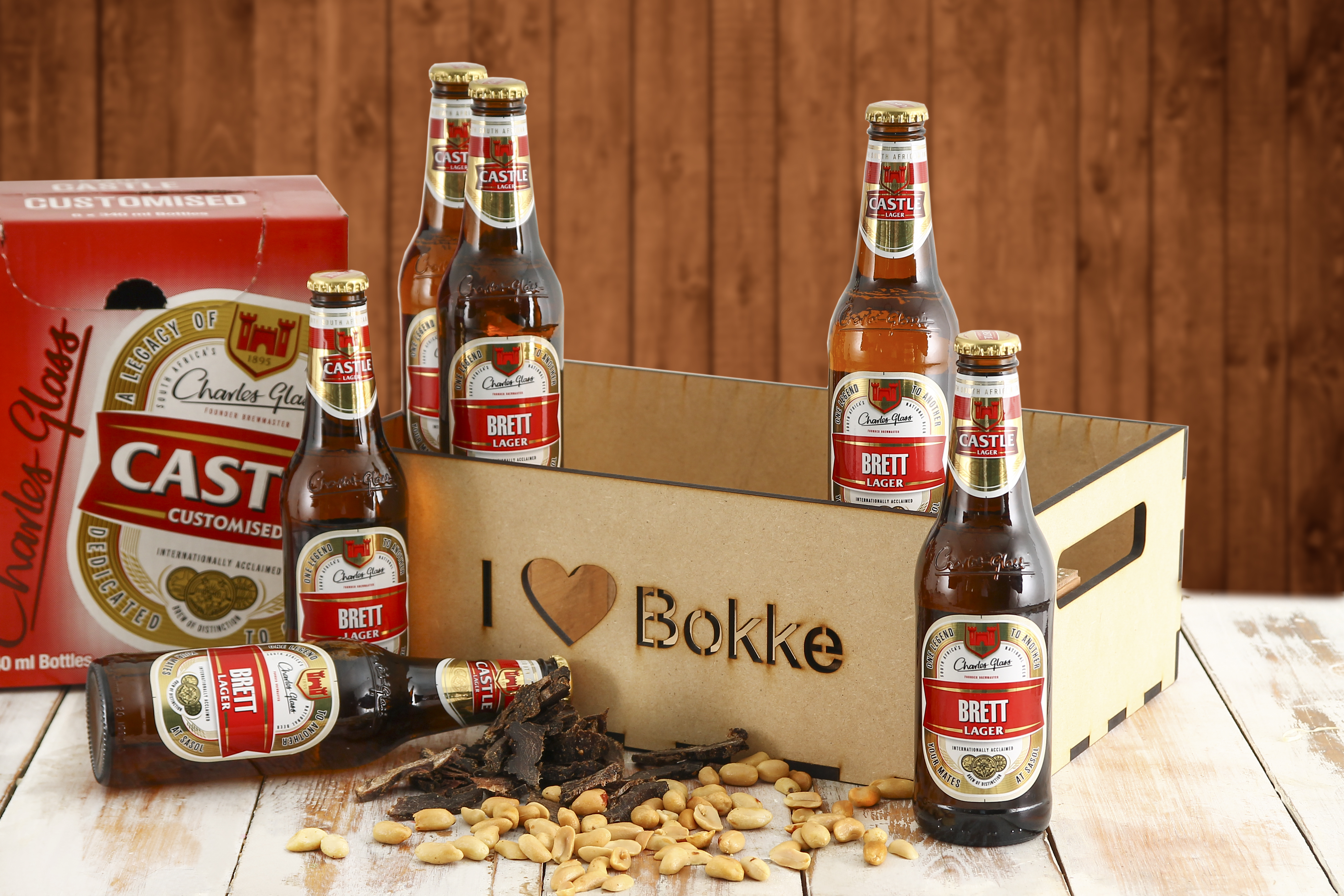 Personalised Castle Beer - Bokke Gifts