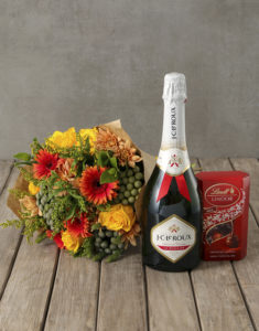 domestic workers' week gifts champagne