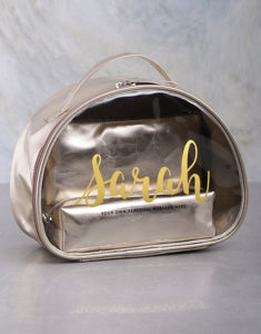 Domestic workers' week gifts cosmetic bags