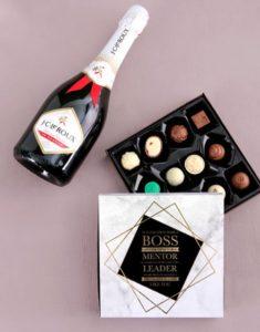Boss's Day chocolate