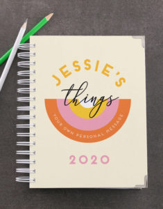 Button for Jessie's Things diary