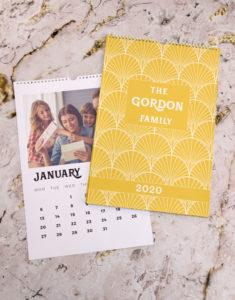Button for sunshine family calender