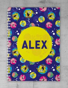 Button For Spongebob Notebook