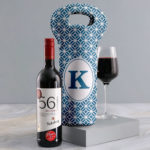 Personalised Blue Haven Wine Carrier Product Link