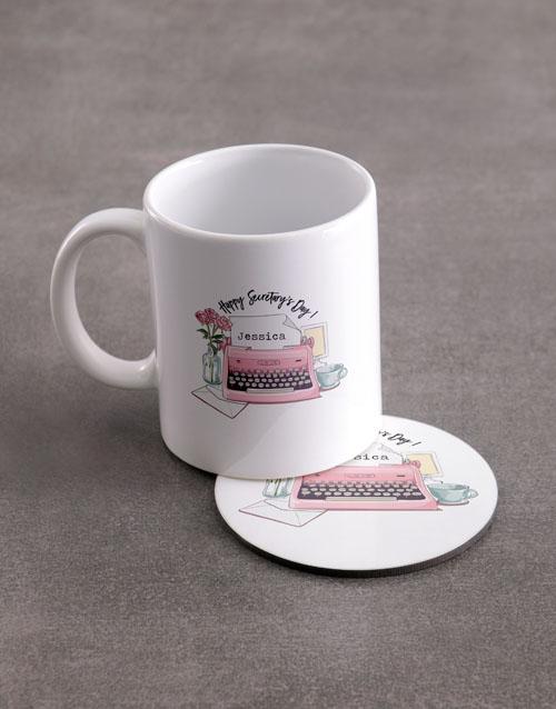 Secretary's Day Personalised Mug